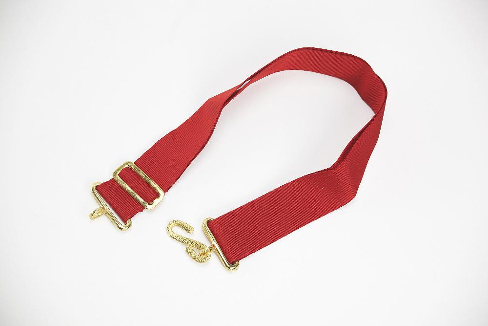 rallonge de ceinture ma onnique rouge. Black Bedroom Furniture Sets. Home Design Ideas