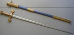Épée Maçonnique Tolede et fourreau bleu