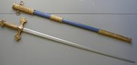 Épée droite Tolède avec Fourreau