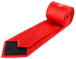 Cravate rouge Arche Royale avec taus
