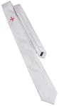 Cravate blanche Templière