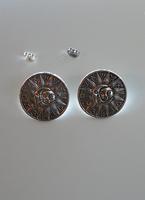 Boucles d'Oreilles Lune et Soleil