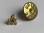 Pin Prestige E&C Or Perle bleue