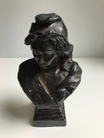Statuette en Bronze Marianne Maçonnique PM