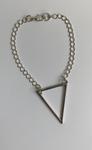 Bracelet Grand Triangle simple chaine