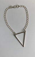 Bracelet Grand Triangle simple chaine