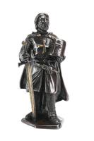 Statuette en Bronze Templier