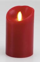 Bougie Pilier Luminara Télécommandable Standard Rouge