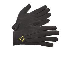 Gants Maçonniques Coton Noir 3 Piqures