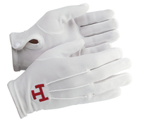 Gants Blancs Nylon Triple Tau