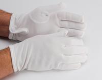 Gants Maçonniques Nylon Blanc