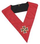 Sautoir de Chevalier Rose Croix 18ème degré REAA Croix Ancrée