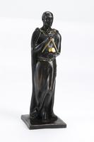 Statuette en Bronze Grand Architecte