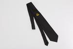 Cravate Maçonnique avec Equerre et Compas brodé