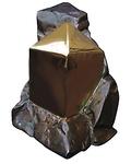 Statuette en Bronze Pierre Cubique