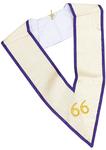 Sautoir 66ème degré Memphis Misraïm