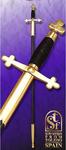 Epée de Tolède pommeau treflé avec Fourreau
