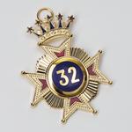 Bijou Croix 32ème degré REAA