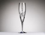 Flûte à champagne Cristal 3 points
