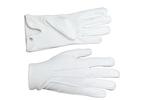 Gants Maçonniques Coton Blanc pour Homme