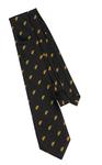Cravate Maçonnique avec imprimé l'Acacia