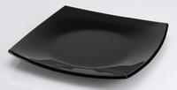 Assiette noire Pave Mosaique