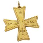 Bijou de Croix d'Ordre SOT