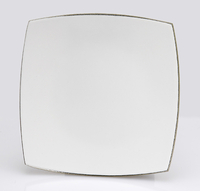 Assiette blanche Pave Mosaique