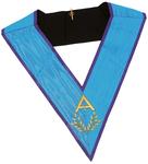 Sautoir d'Officier loge bleue avec acacia Memphis Misraïm