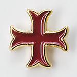 Pin Croix Templière Sot