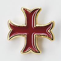 Pin Croix Templière