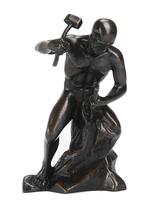 Statuette en Bronze Tailleur de Pierre GM