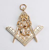 Bijou Maçonnique n°2 de Cordon de Maitre Memphis Misraïm