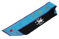 Cordon de Maître Memphis Misraïm avec acacia et étoile flamboyante