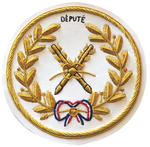 Badge de Tablier Grand Officier Arche Royale