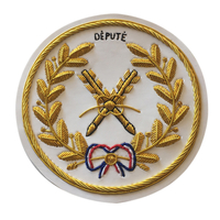 Badge de Tablier Grand Officier Arche Royale