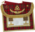 Tablier de Vénérable Maître Standard d'Écosse RSE