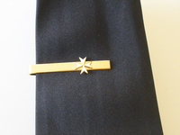 Pince de cravate Croix de Malte