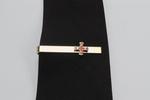 Pince de cravate Croix de Constantin