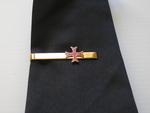 Pince de cravate Croix Templière Pattée