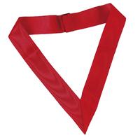 Collerette ruban rouge XIIème et XXème degré