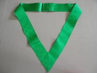 Collerette ruban vert XXVIIème degré
