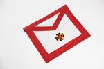 Tablier de Chevalier Rose Croix 18ème degré REAA Croix Potencée