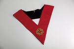 Sautoir de Chevalier Rose Croix 18ème degré REAA Croix Potencée