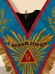 Sautoir Vénérable Maitre avec acacia et banderole REAA
