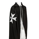 Manteau noir de Chevalier de Malte