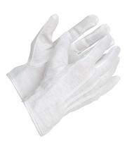 Gants Maçonniques Coton PVC Blanc Scribe