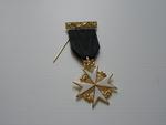 Médaille Chevalier de Malte