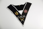 Sautoir de Chevalier Kadosh CKH REAA Croix et Drapeaux