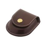 Accessoire montre à gousset poche en simili et bouton doré  pour ceinture